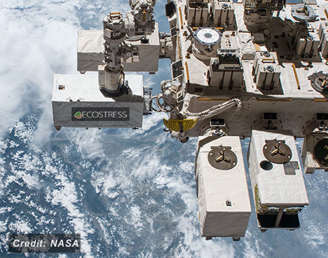 ECOSTRESS instrument on the International Space Station
