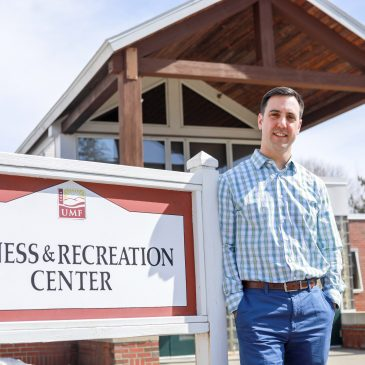 Ben White, director of the UMF Fitness and Recreation Center, sees the limited opening of the FRC as a positive first step.