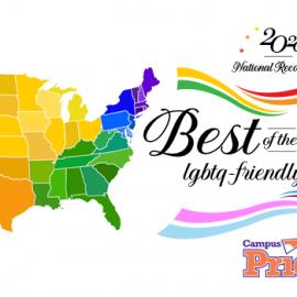Best of the Best Campus Pride logo