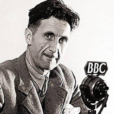 Author George Orwell
