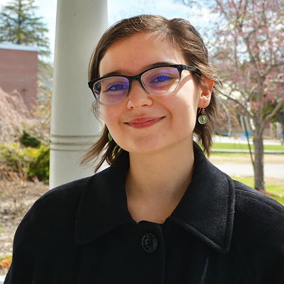 Commencement student speaker Billie Rose Newby