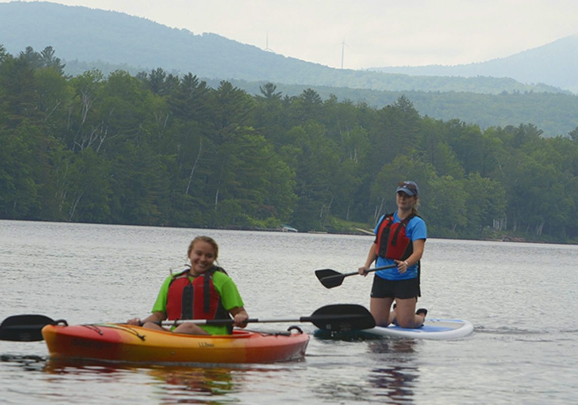 Mainely Outdoors, UMF's signature outdoor recreation program, offers Summer Experience students a taste of outdoor adventure.