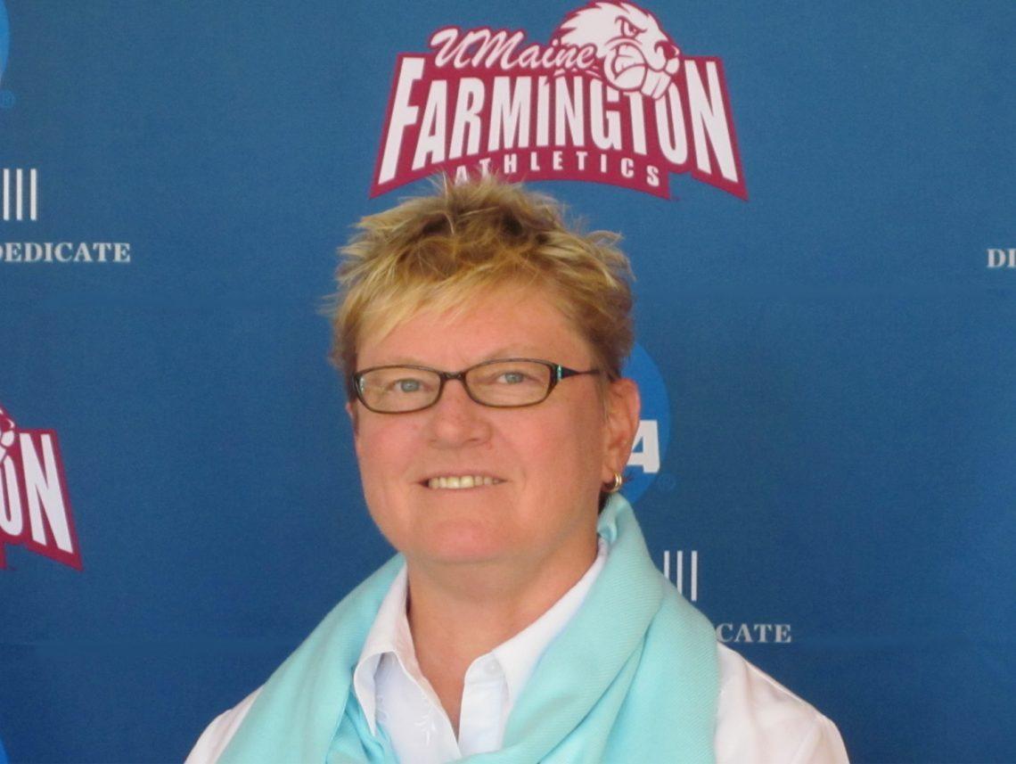 Julie Davis, UMF director of Athletics, Fitness and Recreation