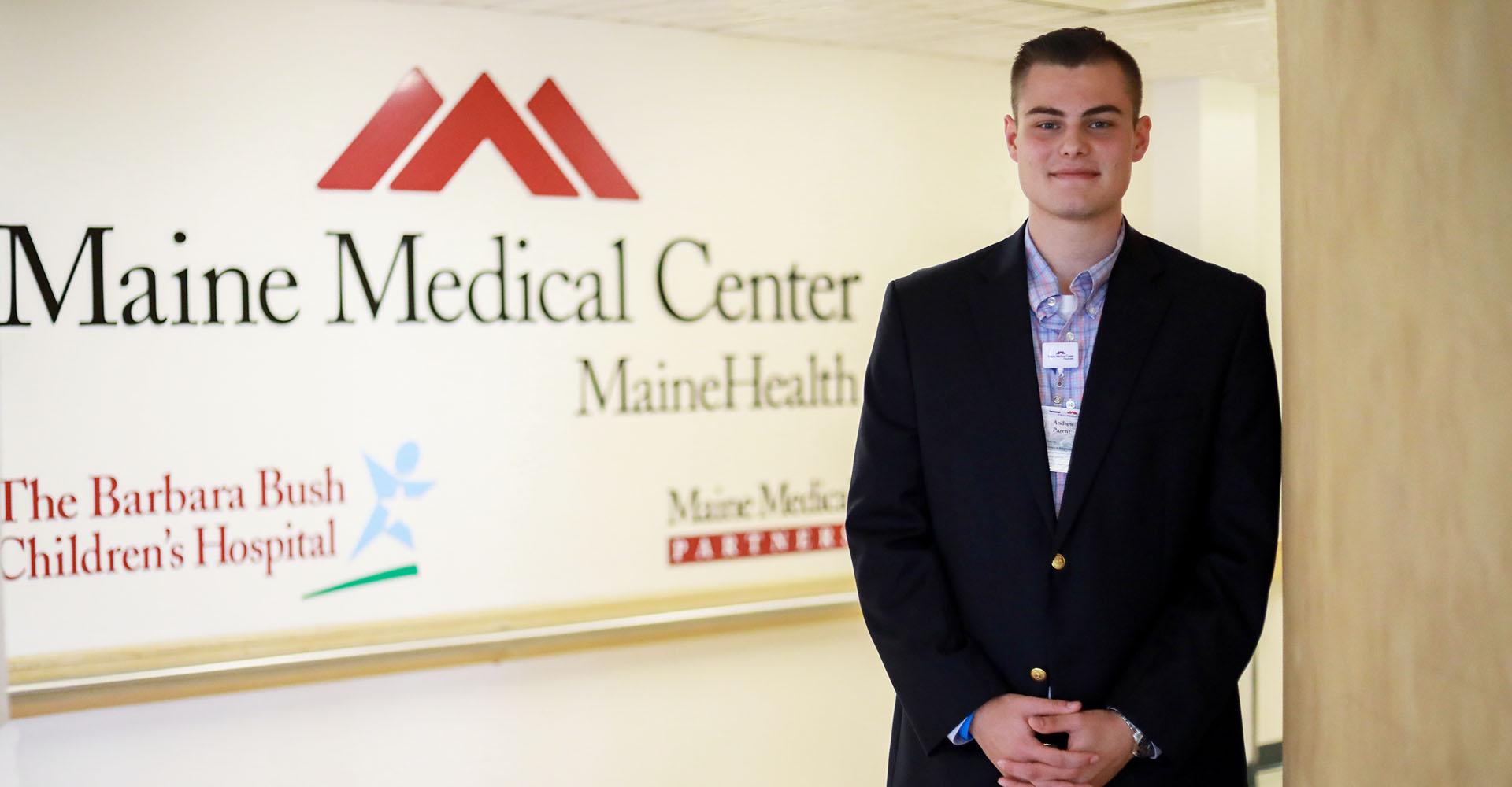 Student intern at Maine Medical Center