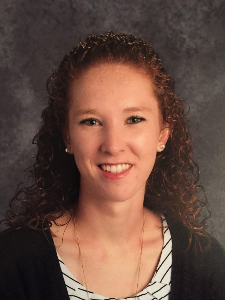 Lacey McQuarrie from Houlton, a special education teacher at the Hodgdon middle school and high schools in Aroostook County