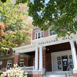 Purington Hall on the University of Maine at Farmington campus