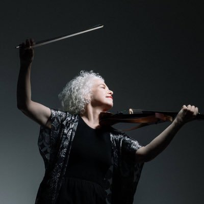 """Martha Mooke, electro-acoustic violist and Keynote presenter with UMF New Commons Project event on David Bowie's """"Life on Mars?"""""""